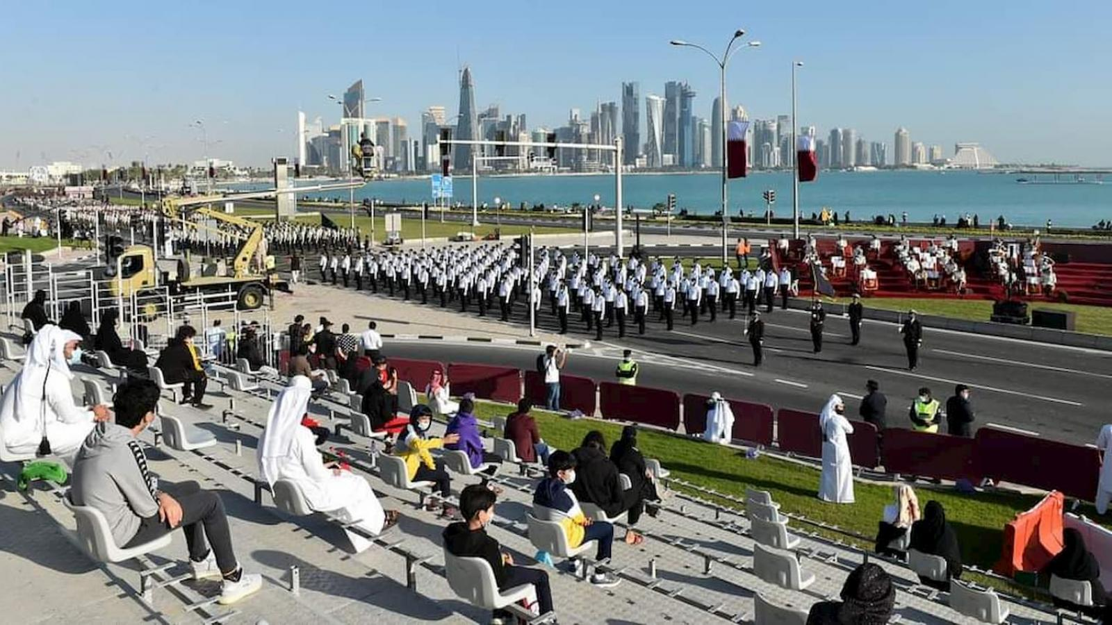 Attendance at Qatar National Day 2020 parade by invite only