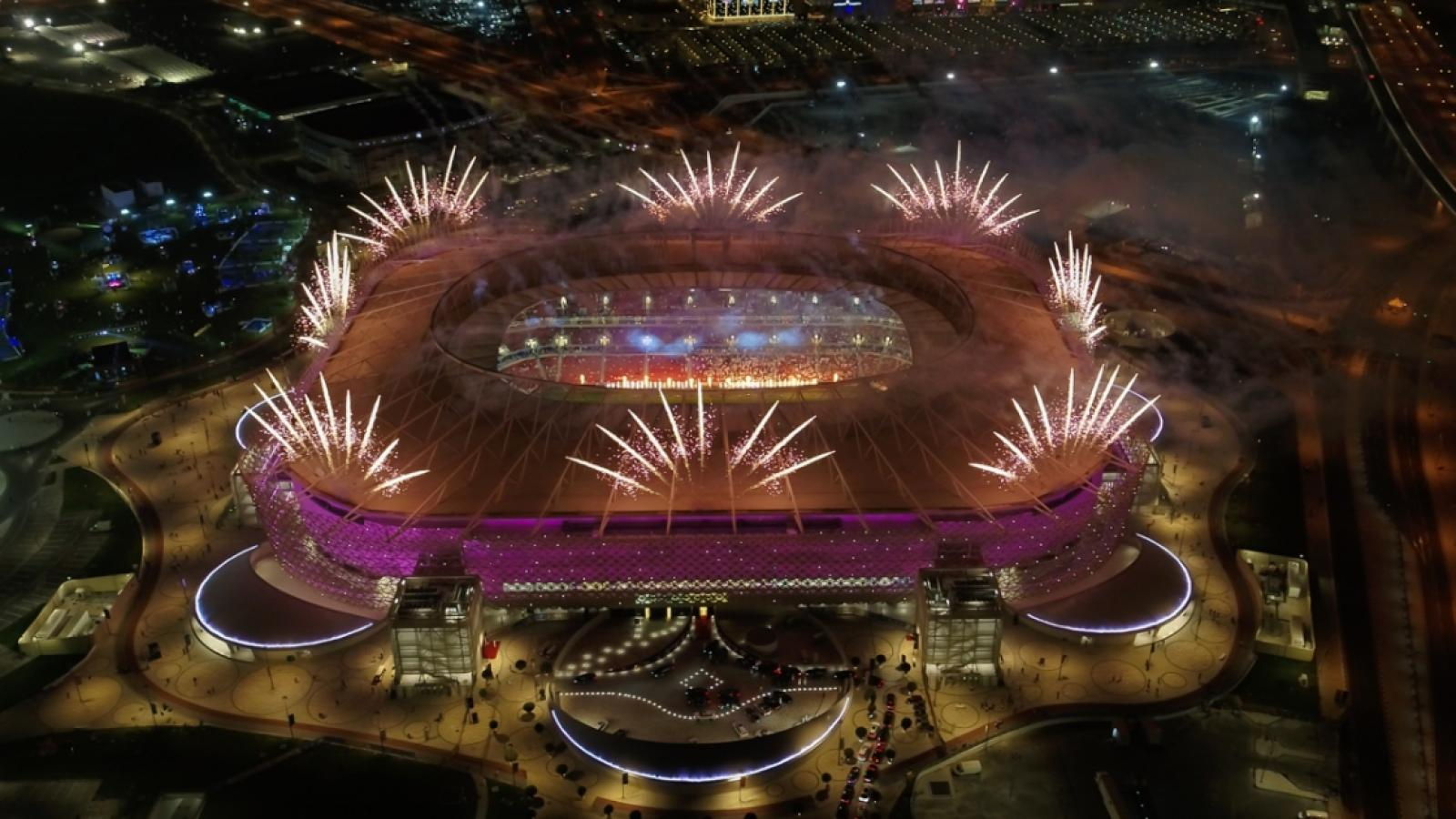 Ahmad Bin Ali Stadium unveiled to the world with spectacular launch