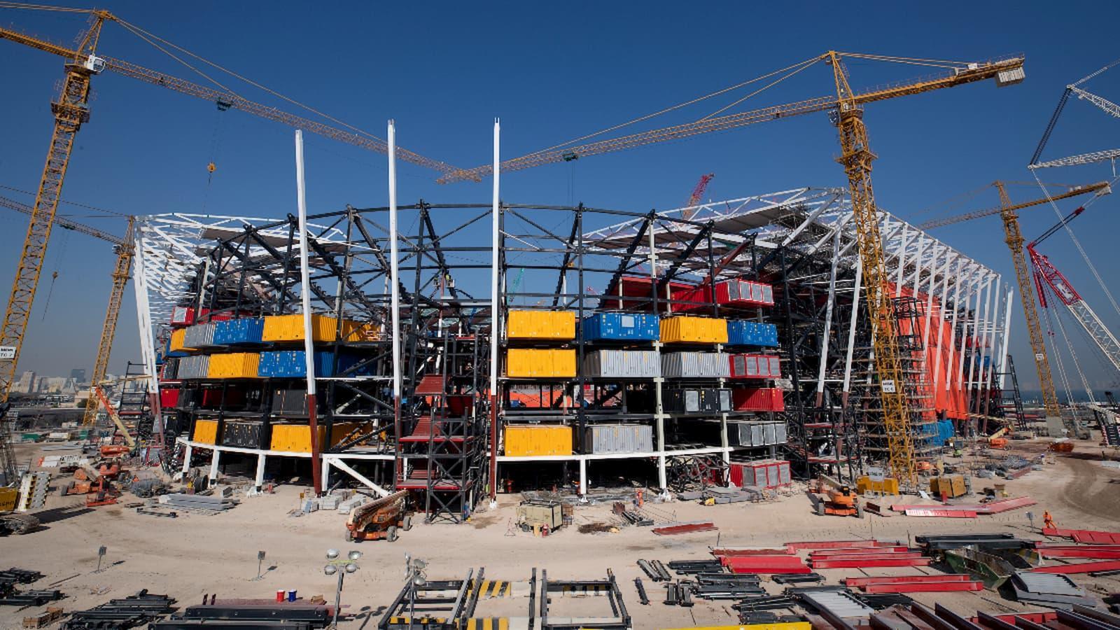 Qatar 2022 stadiums continue to take shape despite pandemic