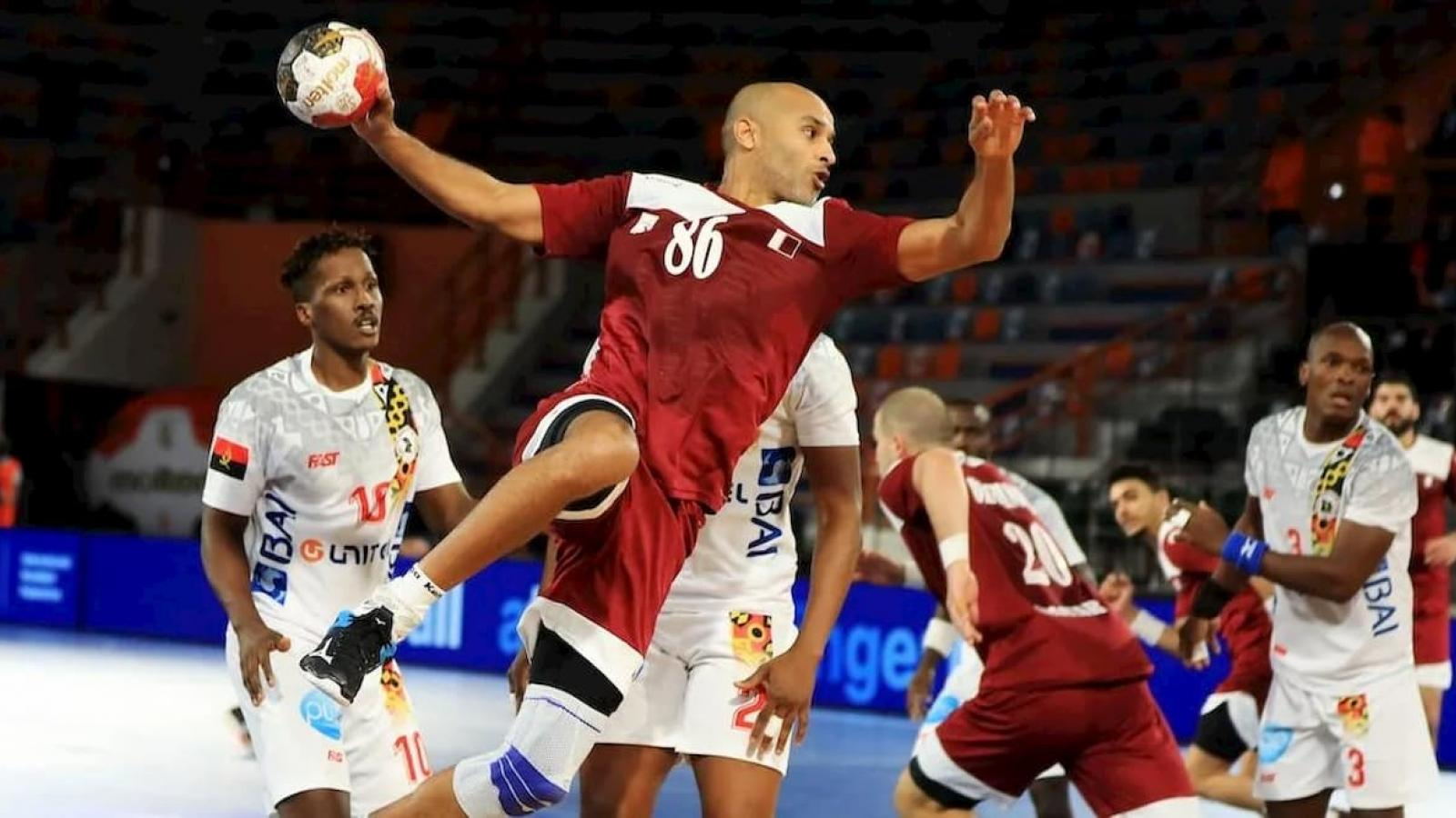 Qatar starts 2021 IHF Men's Handball World Championship with victory over Angola