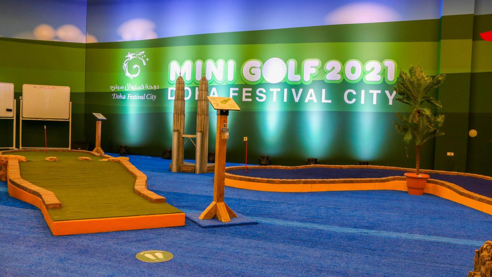 New mini golf experience opens at Doha Festival City