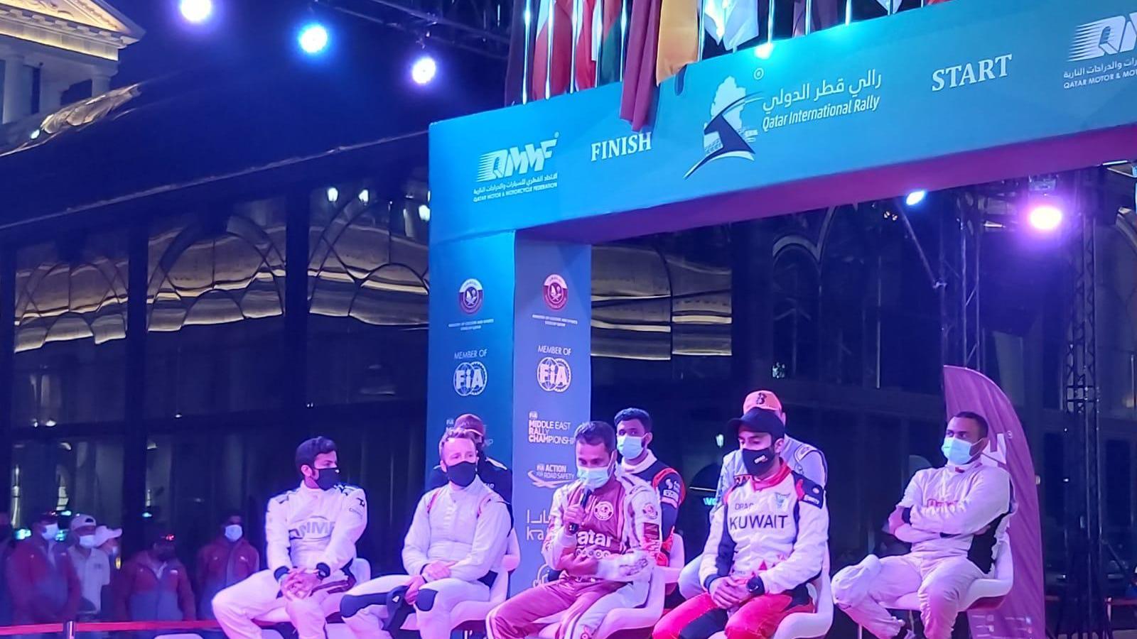 WATCH:2021 FIA Middle East Rally Championship kicks off at Katara Cultural Village