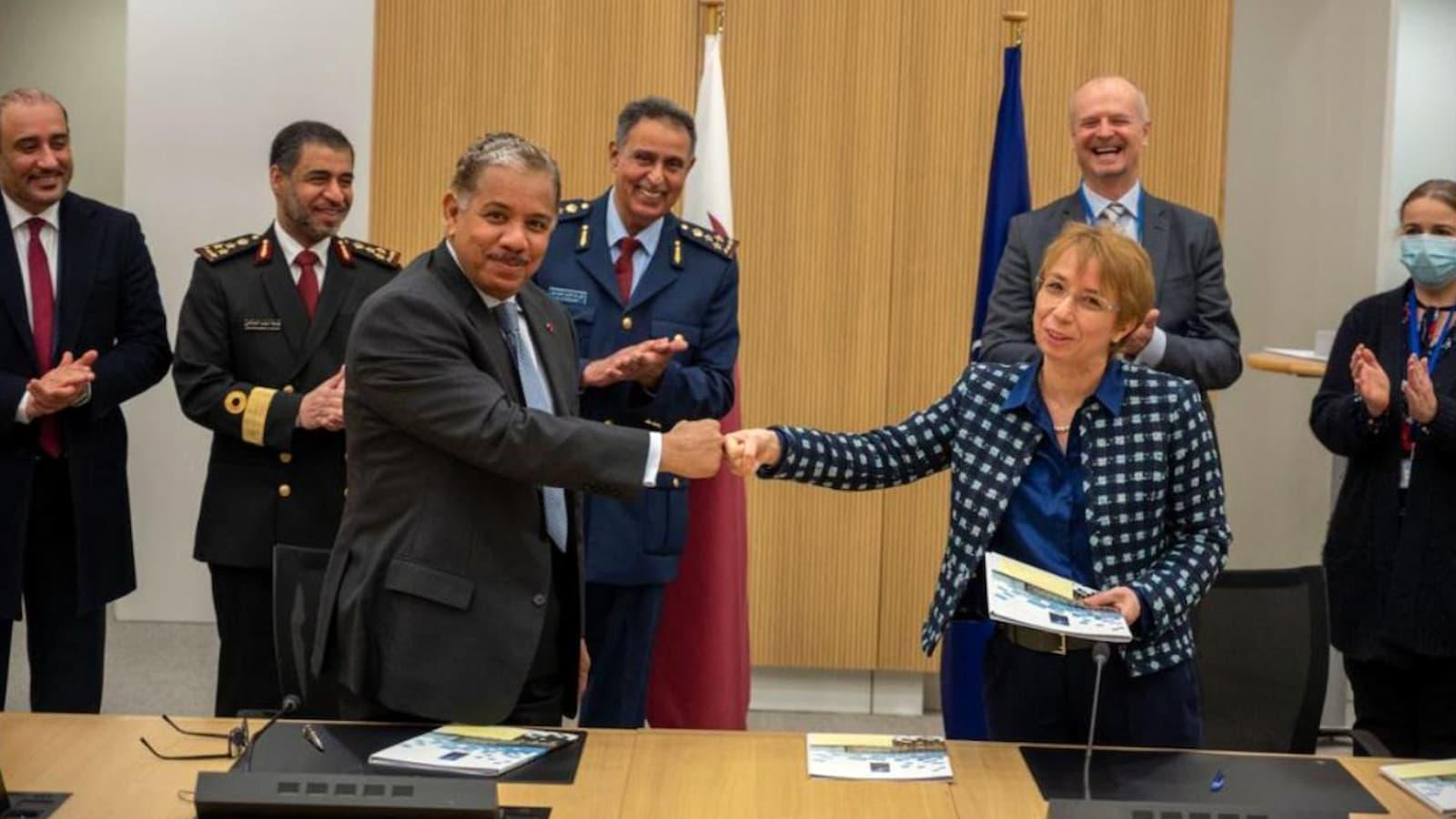 Qatar signs pact to open mission offices, military representation at NATO headquarters