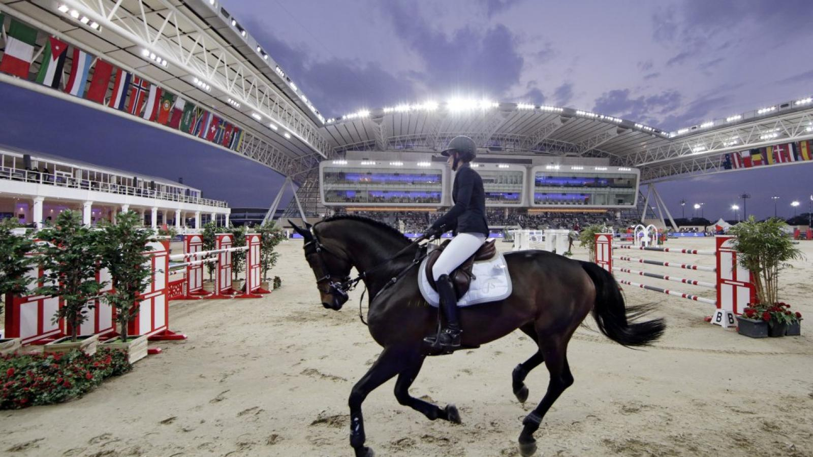 Qatar Foundation's Al Shaqab to host two world-class equestrian events on the trot