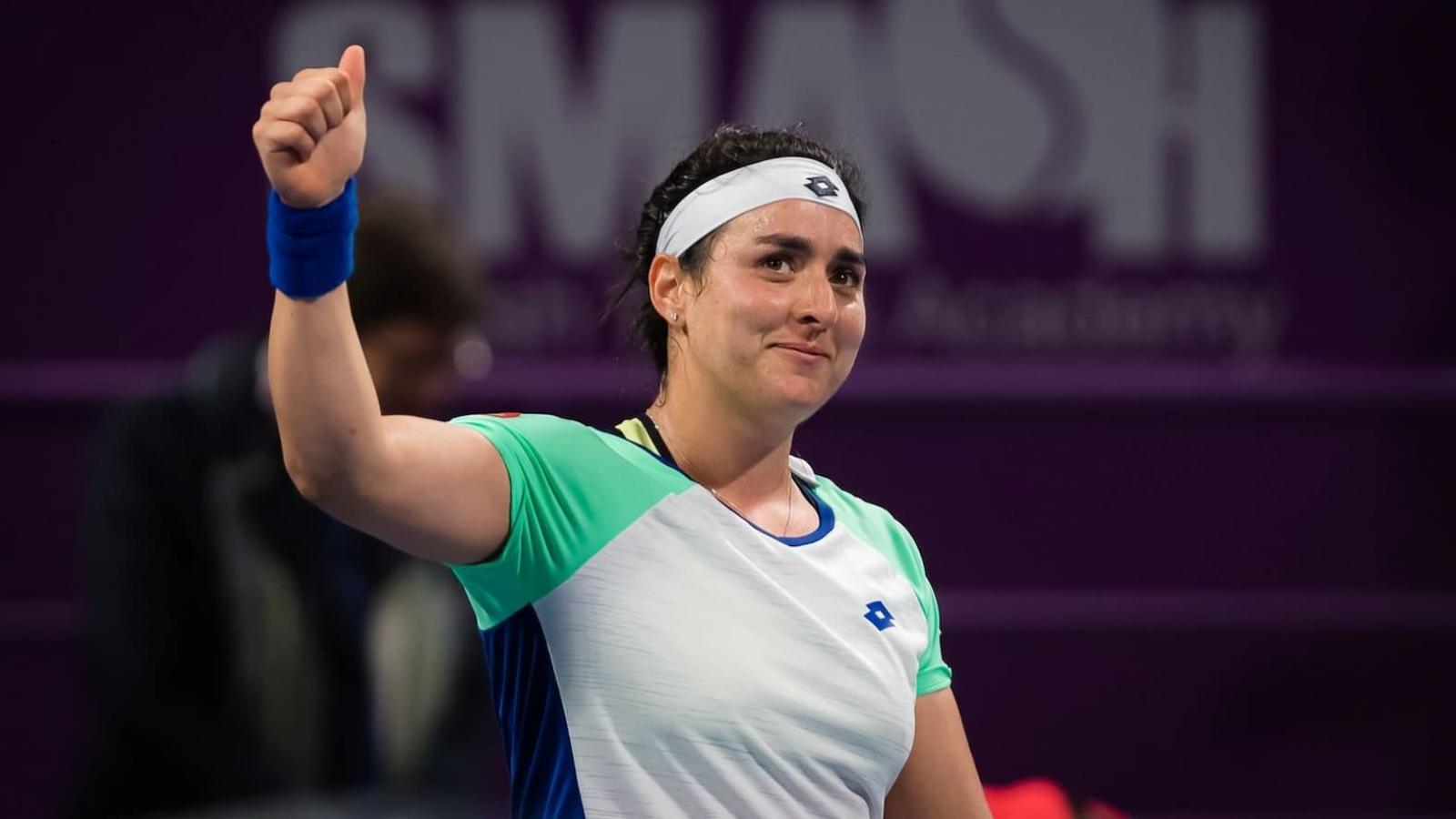 Jabeur enters Qatar Total Open 2021 main draw; Azarenka joins Ostapenko as wildcard entrants