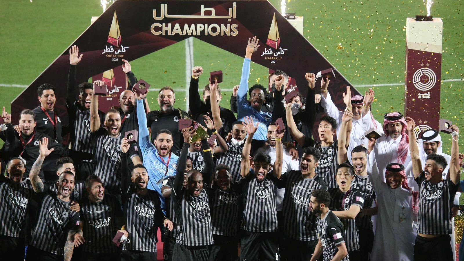 Al Sadd drub Al Duhail 2-0 to retain Qatar Cup crown
