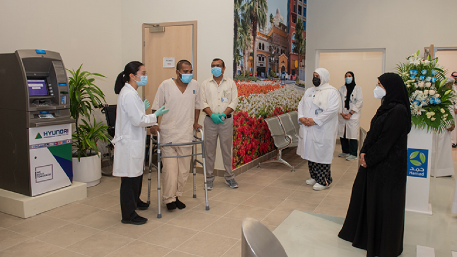 Minister of Public Health inaugurates 'Easy Street' patient rehabilitation facility at QRI