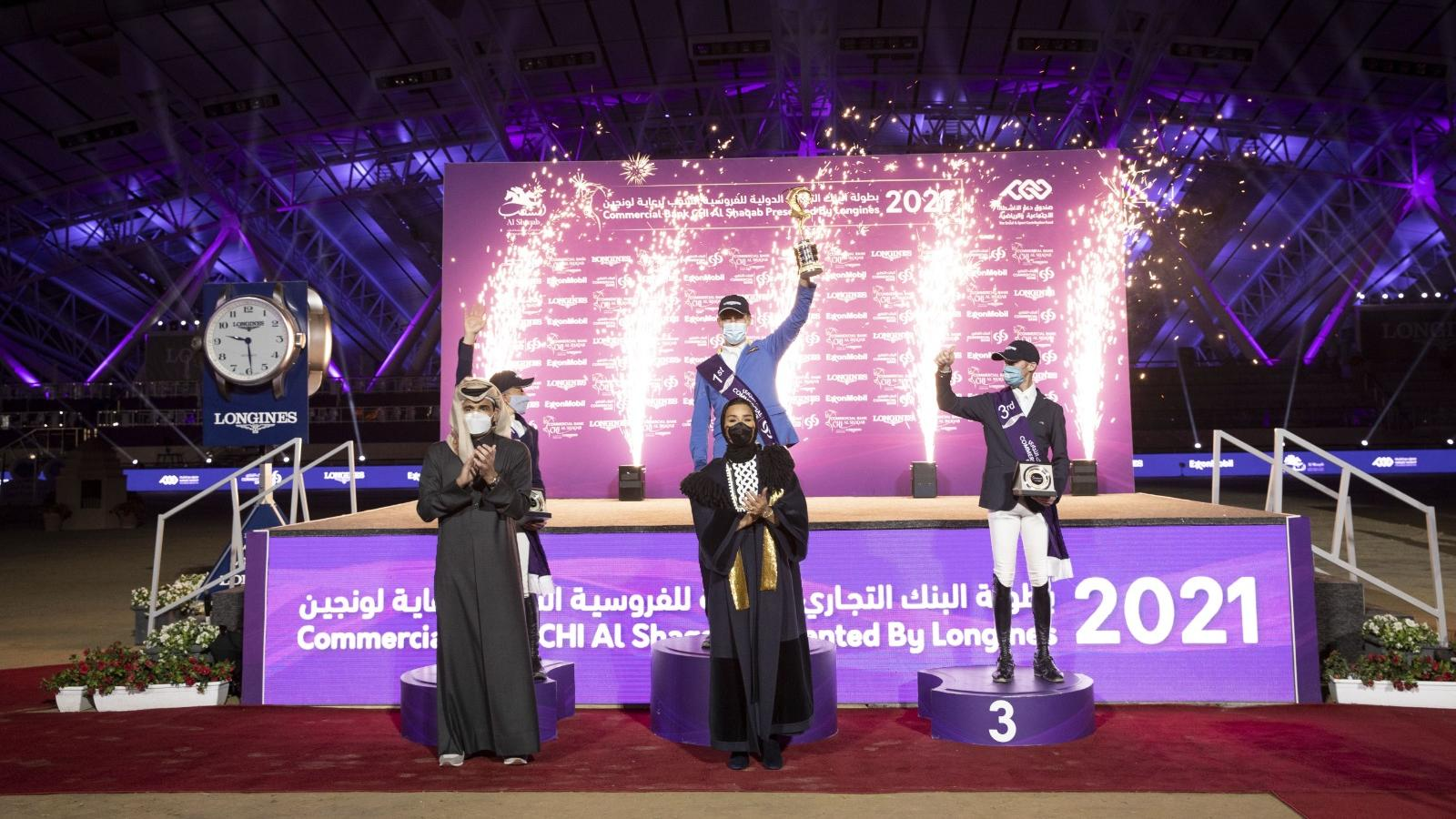 Sheikha Moza crowns winners of 8th Commercial Bank CHI Al Shaqab presented by Longines