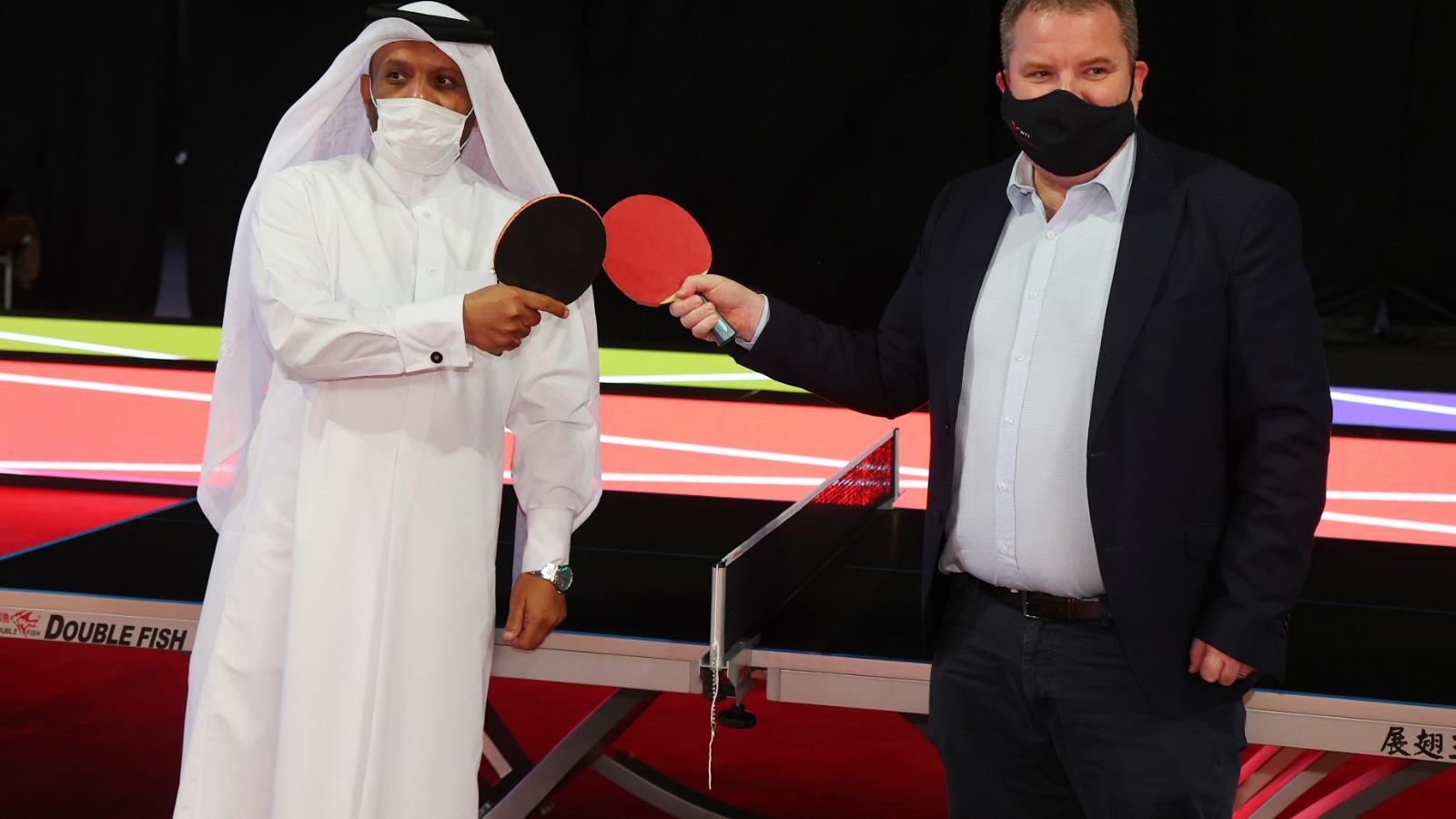 Qatar sets to make another sporting history as WTT Middle East Hub gets underway at Lusail Multipurpose Hall