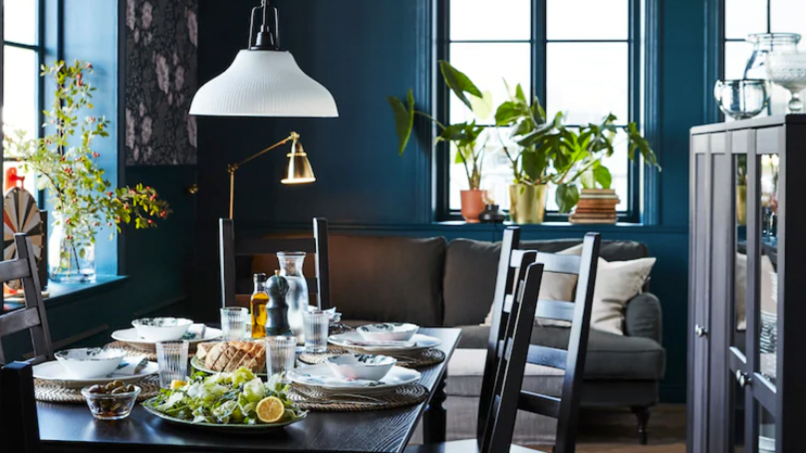 Enjoy a great family dinner in a few hopeful steps with IKEA