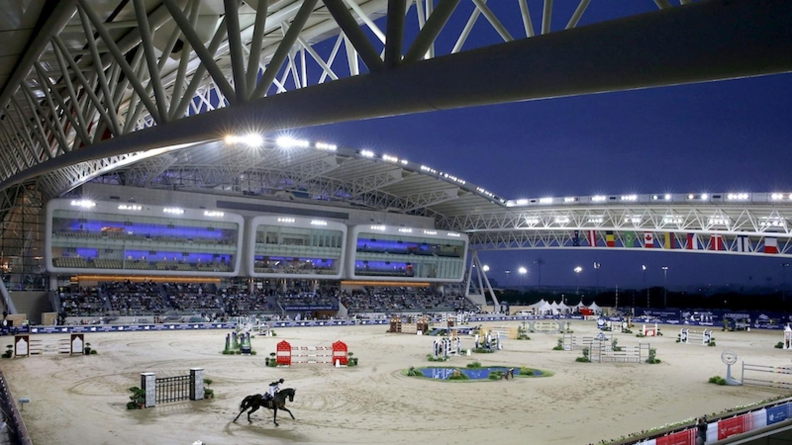 Season-opening Longines Global Champions Tour to kick off at Longines Arena at Al Shaqab today