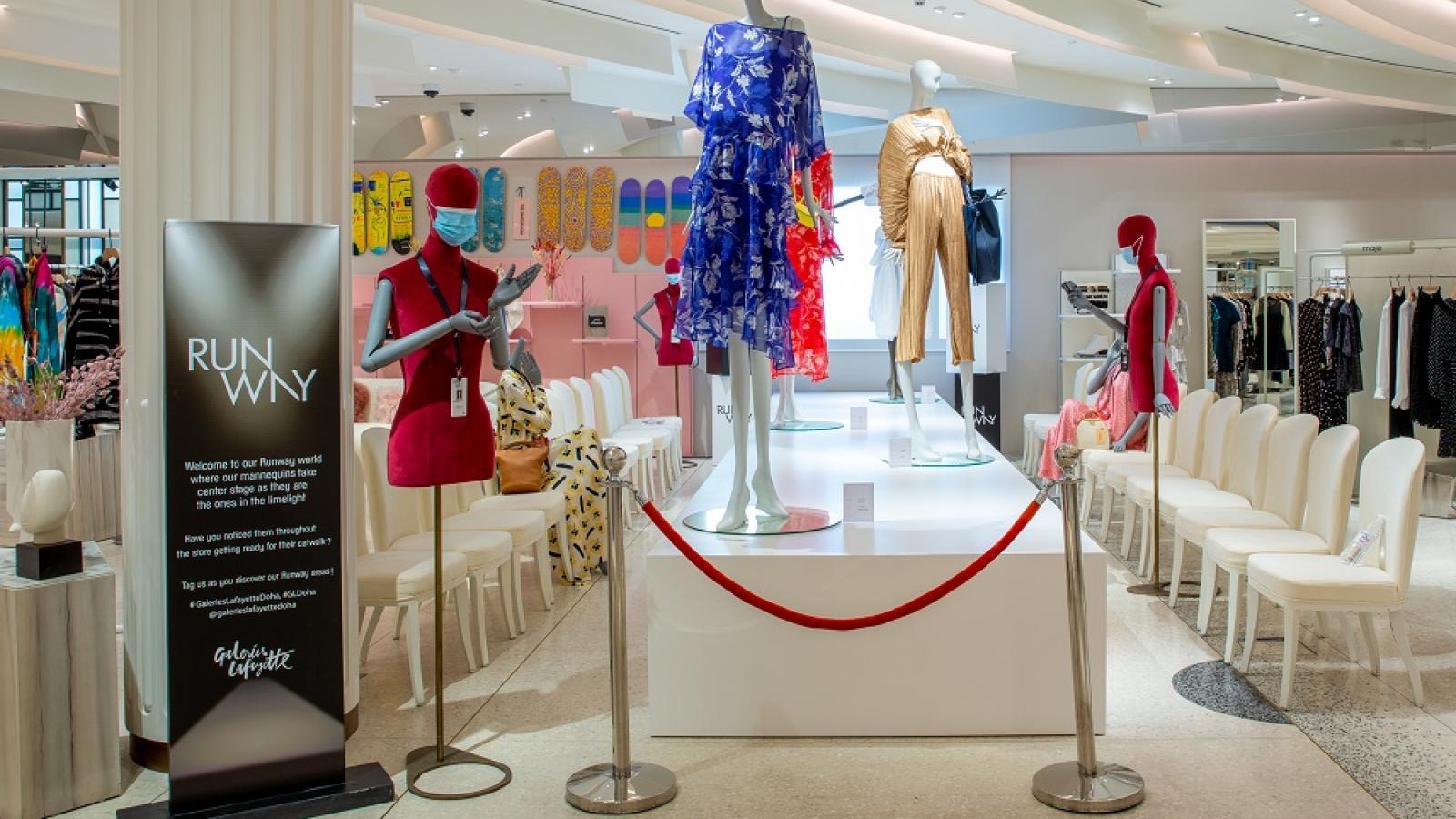 Galeries Lafayette Doha celebrates creators with 'Fashion Runway' campaign