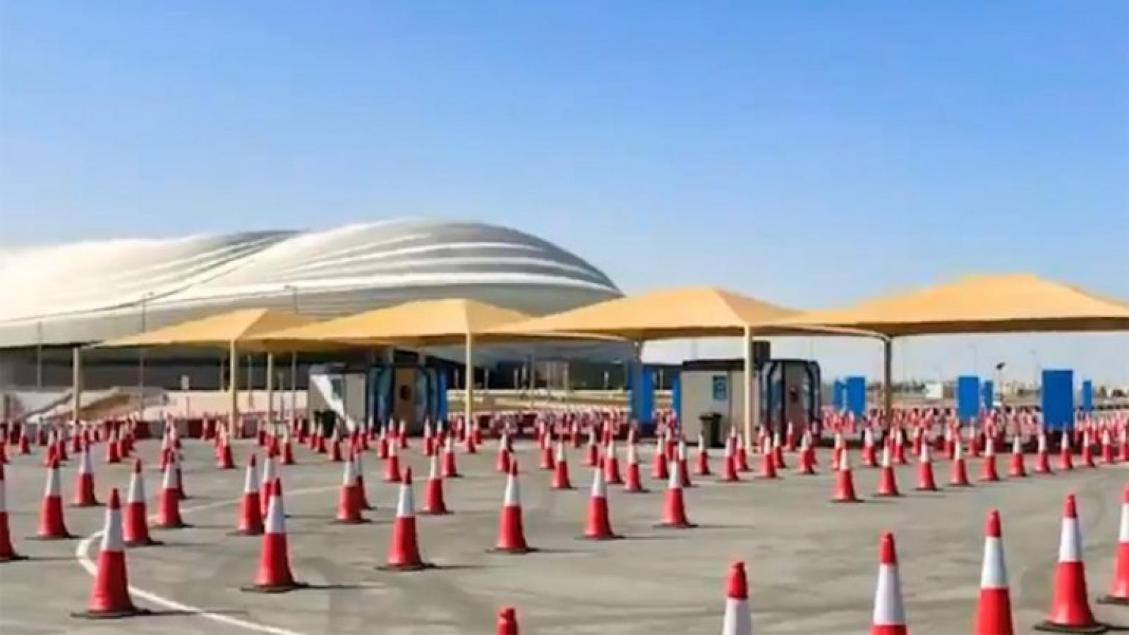 MoPH opens second drive-through COVID-19 vaccination center in Al Wakra
