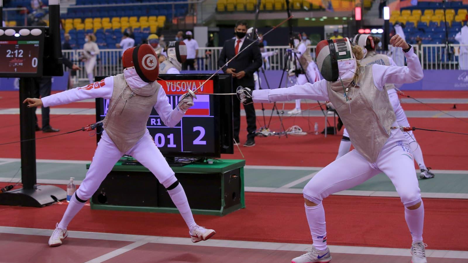 Rio Games bronze medalist Boubakri, world No. 30 Walczyk dumped out of Grand Prix Doha 2021