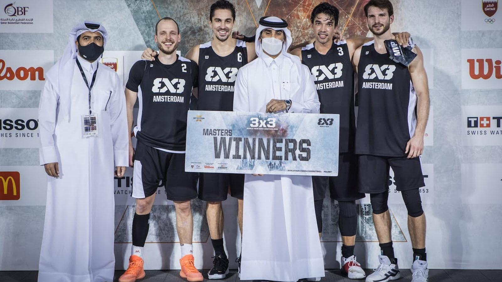 Kovacevic's buzzer-beater gives Amsterdam Talent & Pro first-ever Masters win at FIBA 3x3 World Tour Doha Masters 2021