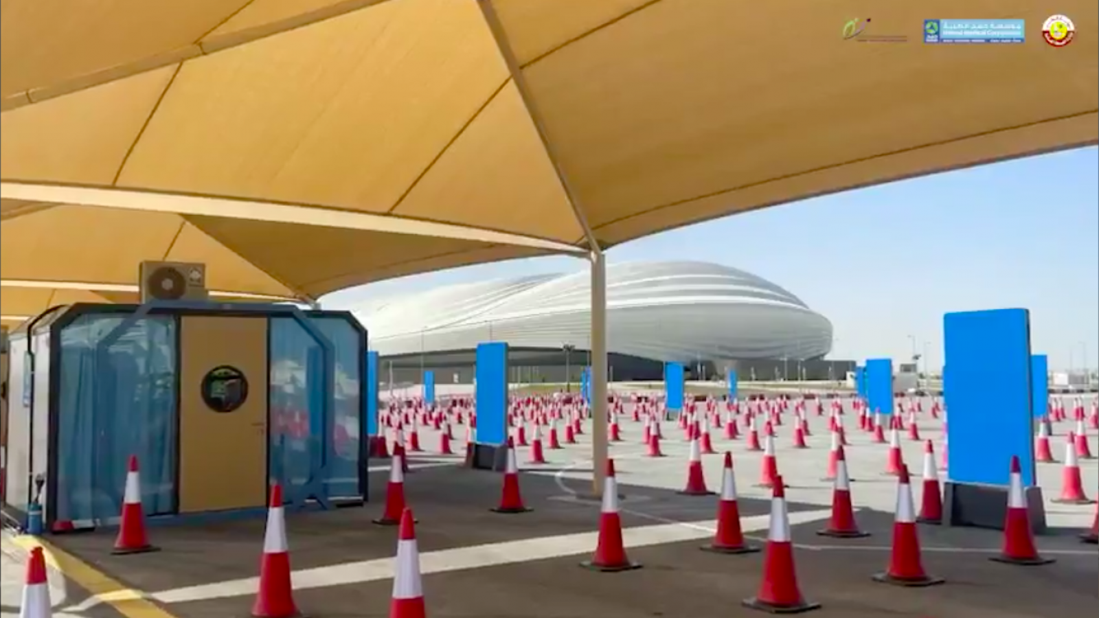 All you need to know about Qatar's second COVID-19 drive-through vaccination center