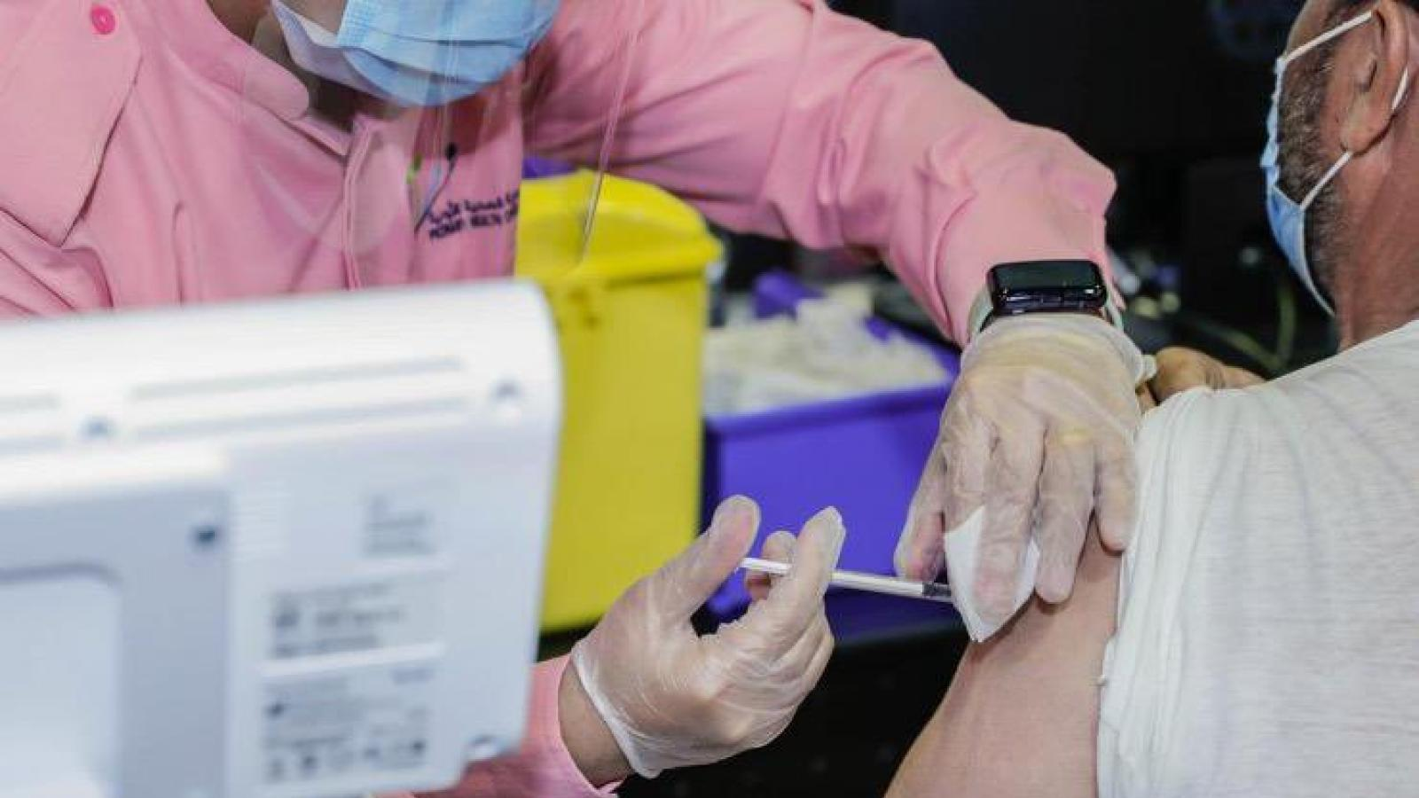 98.4 percent of vaccinated individuals not infected with COVID-19: health official