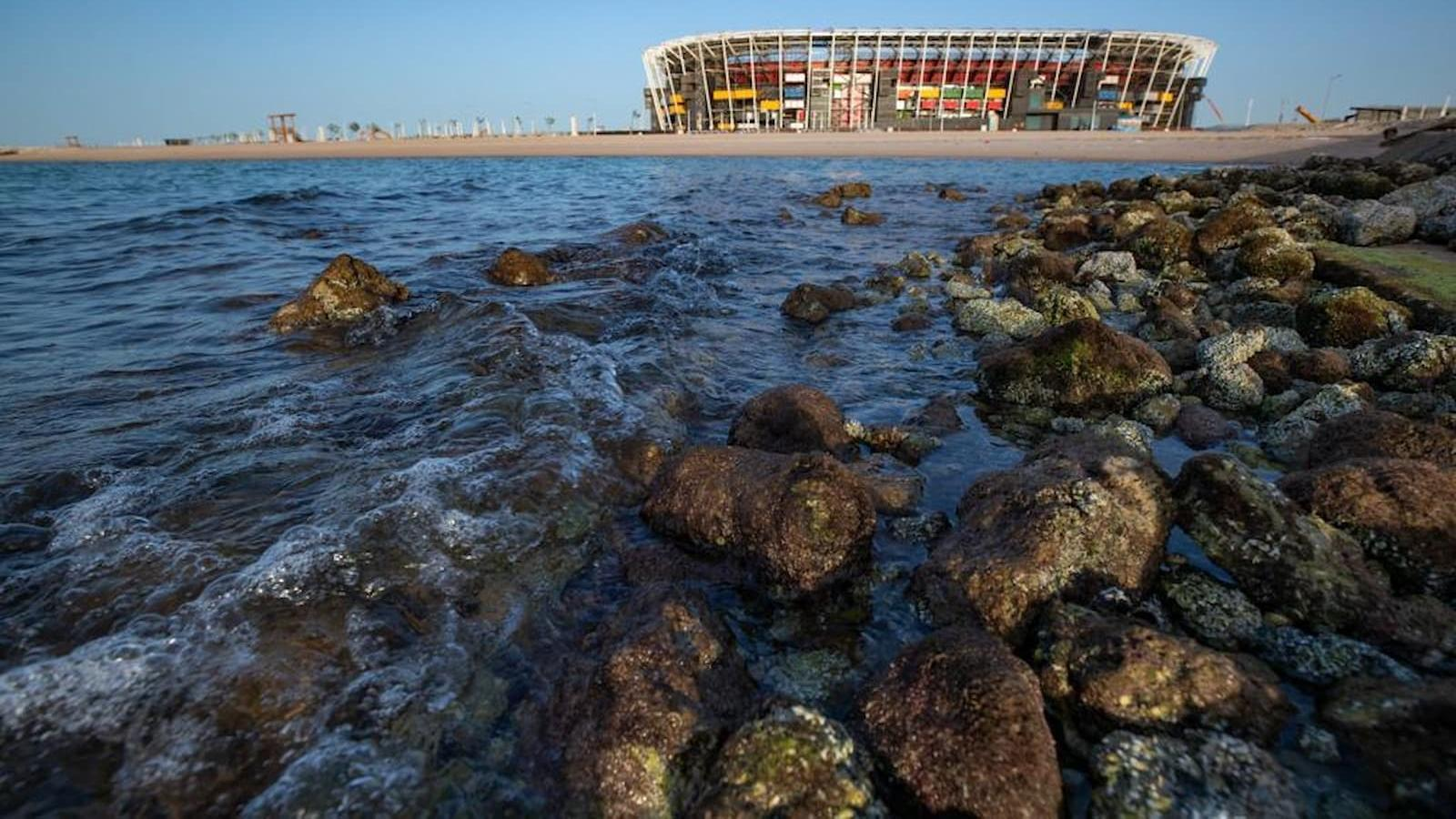 A symbol of innovation and sustainability: Ras Abu Aboud Stadium comes to life