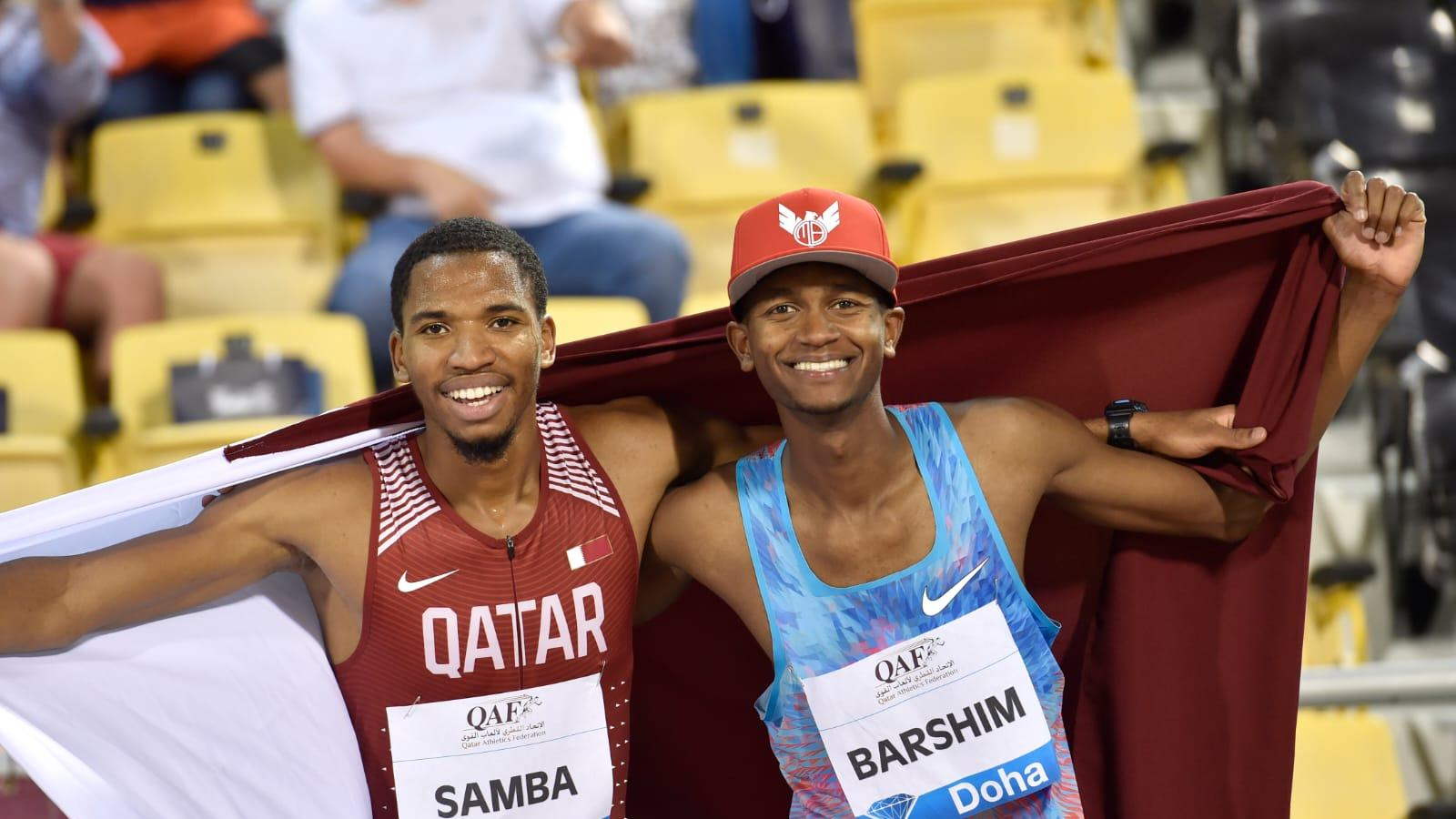 Qatari stars Barshim and Samba to kick off their Wanda Diamond League season in Doha