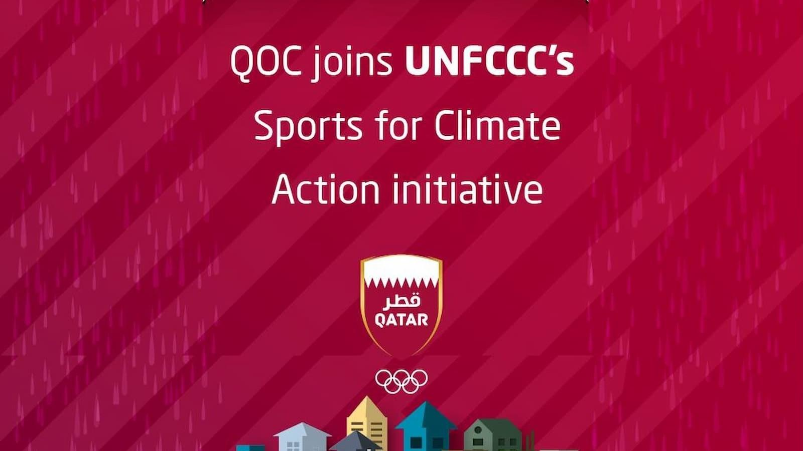 QOC joins UNFCCC's Sports for Climate Action initiative