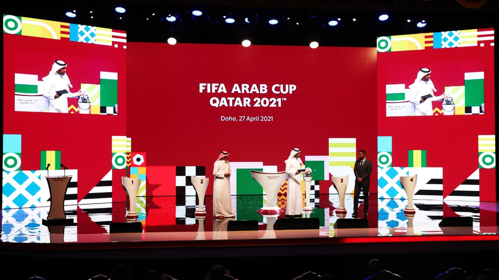WATCH: Draw sets the stage for an exciting FIFA Arab Cup Qatar 2021