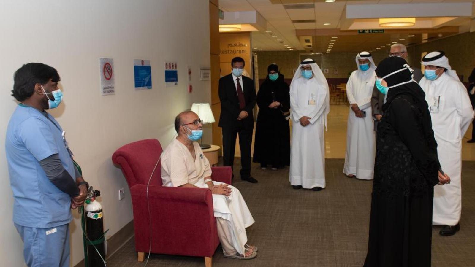 Minister of Public Health visits Surgical Specialty Center as facility discharges last COVID-19 patients