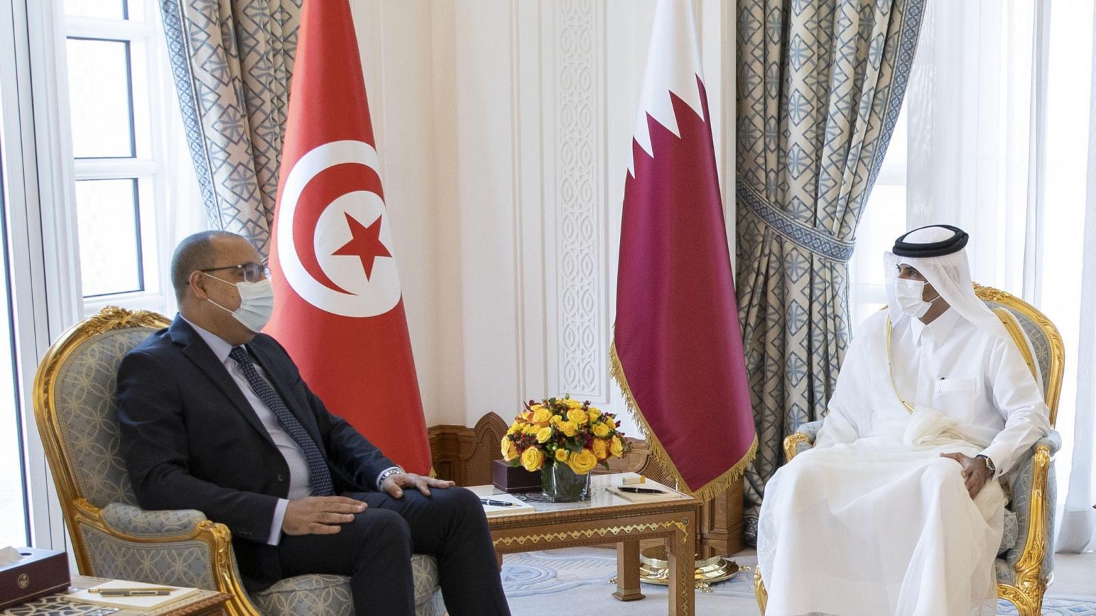 Qatar's PM meets Tunisian counterpart