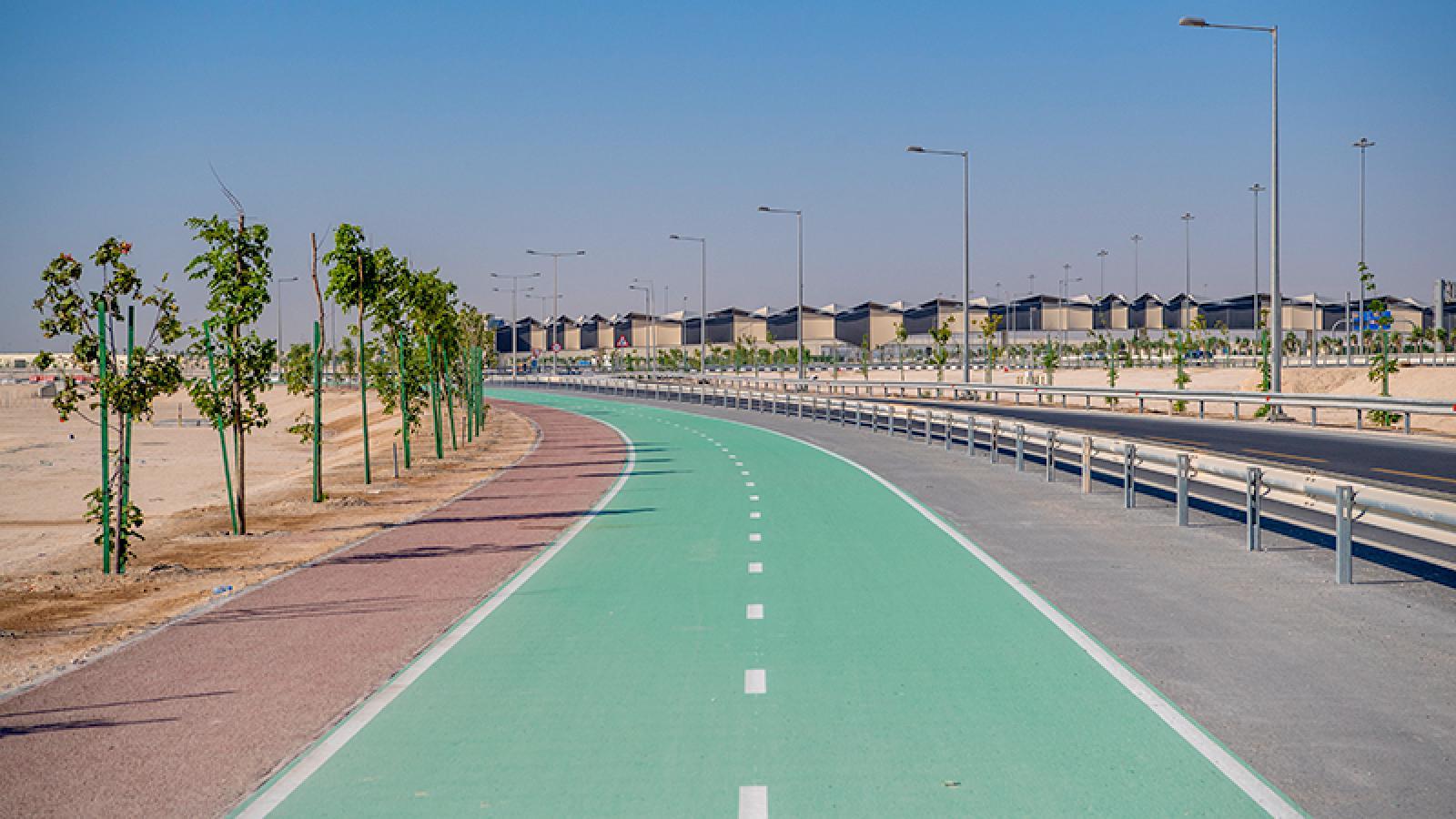 Ashghal opens 38km long shared pedestrian cycling path on Al Khor road