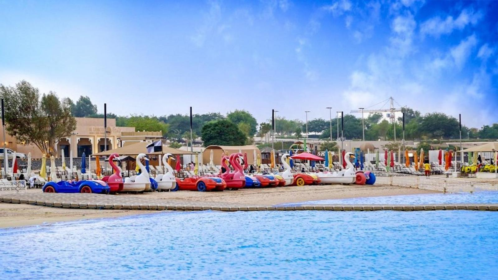 Enjoy water sports activities at Katara for a reduced price