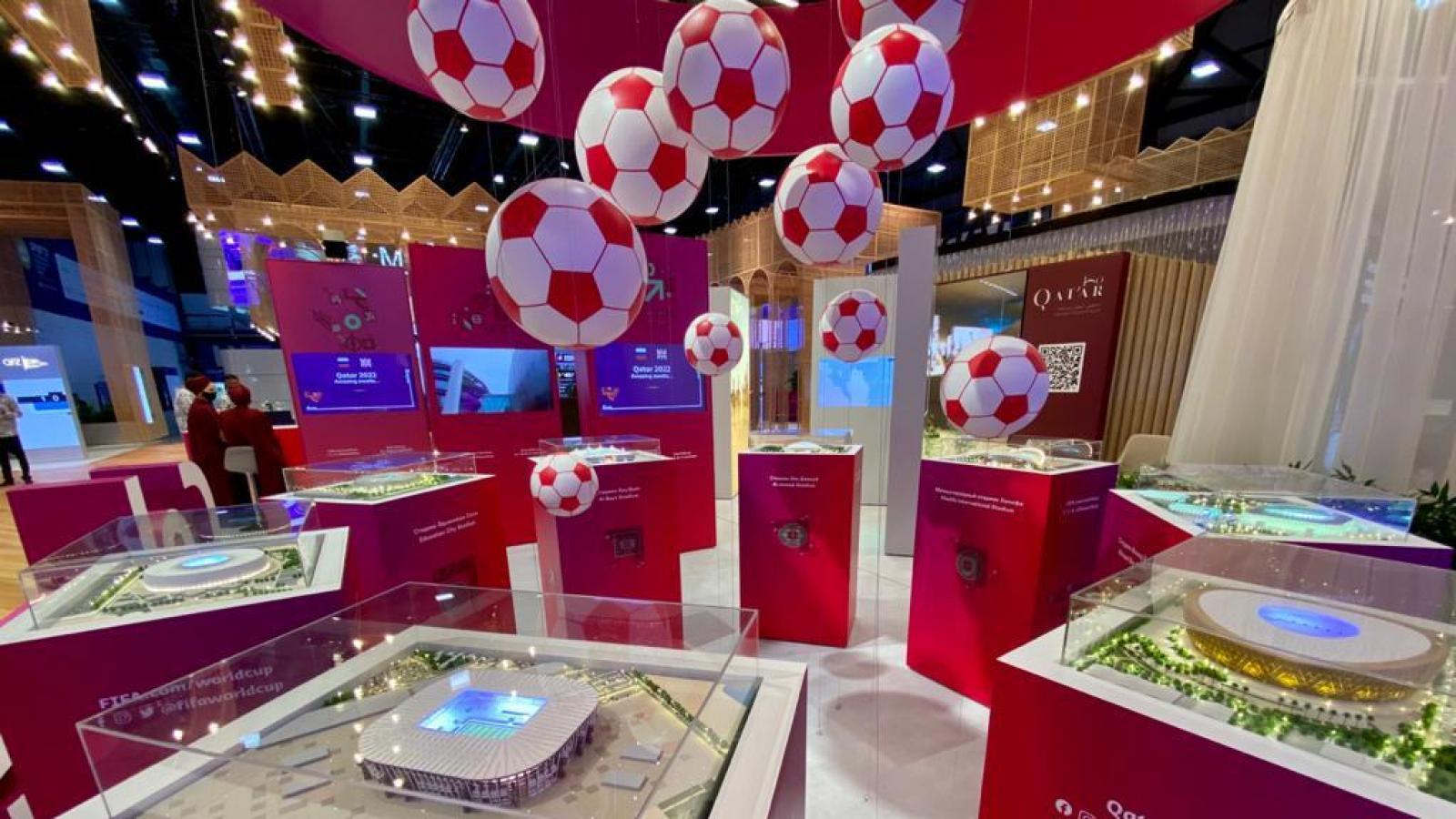 Qatar showcases FIFA World Cup™ preparations during St. Petersburg International Economic Forum