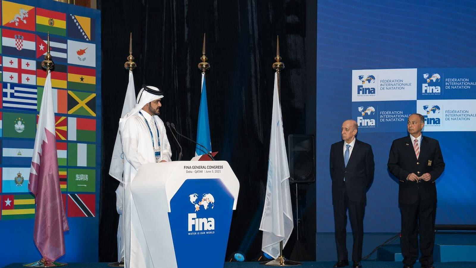 Qatar is very passionate about aquatic sport: Sheikh Joaan