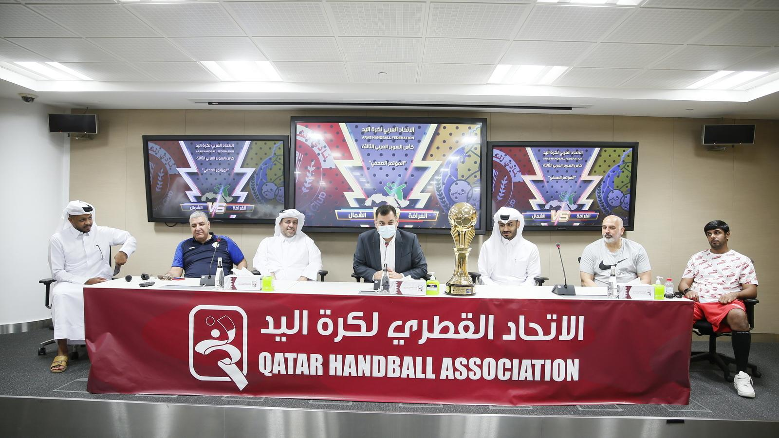 All Qatari-affair as Al Shamal, Al Gharafa set to clash in Arab Handball Super Cup tonight