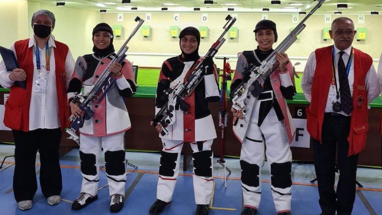 Qatar secures air rifle gold medal in Arab Shooting Championships