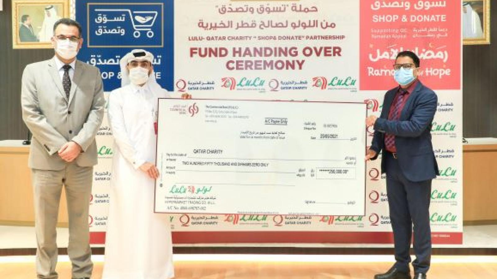 Qatar Charity and Lulu to launch the 'Shop & Donate' campaign