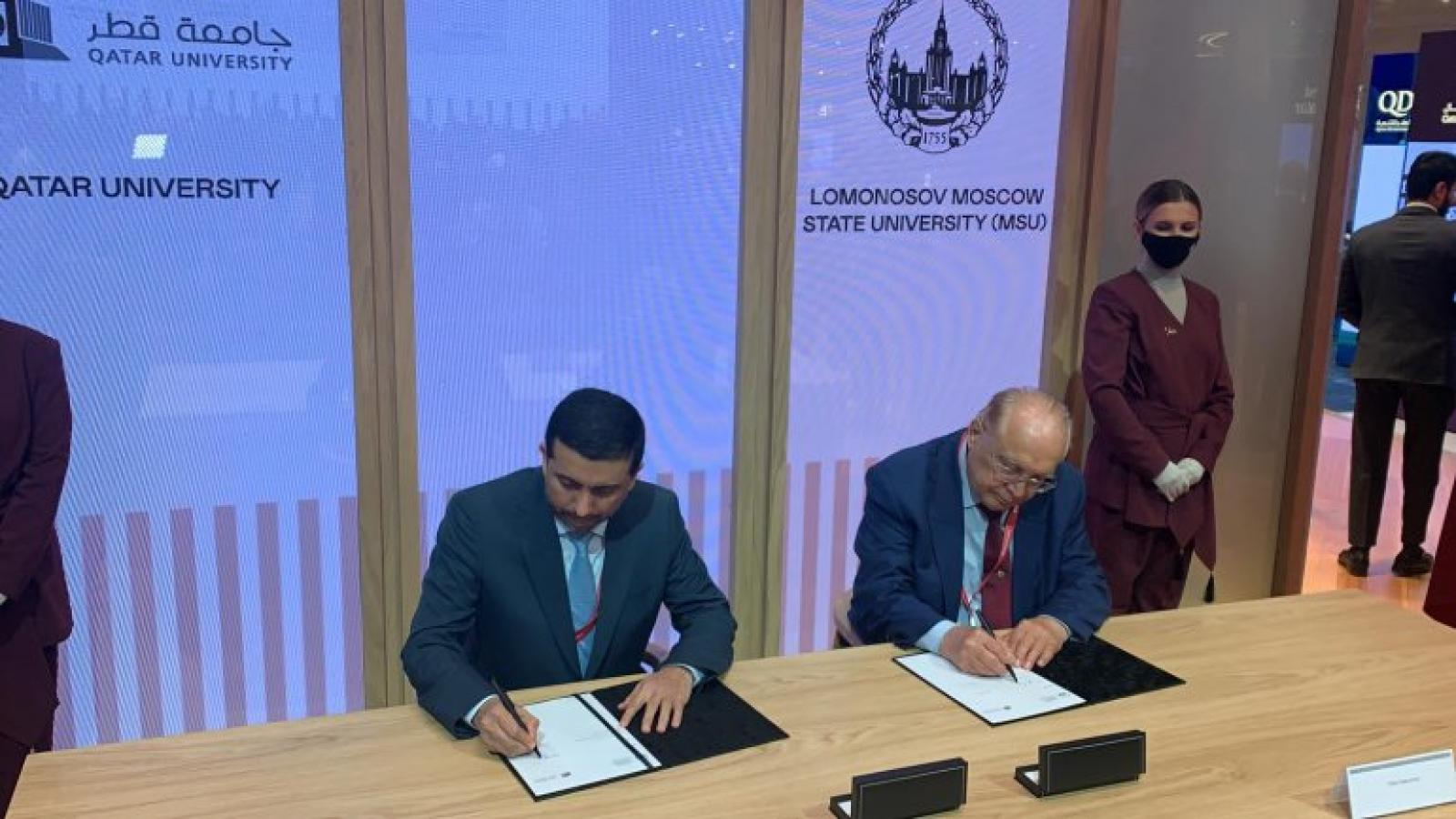 Qatar University signs MoU with several Russian universities