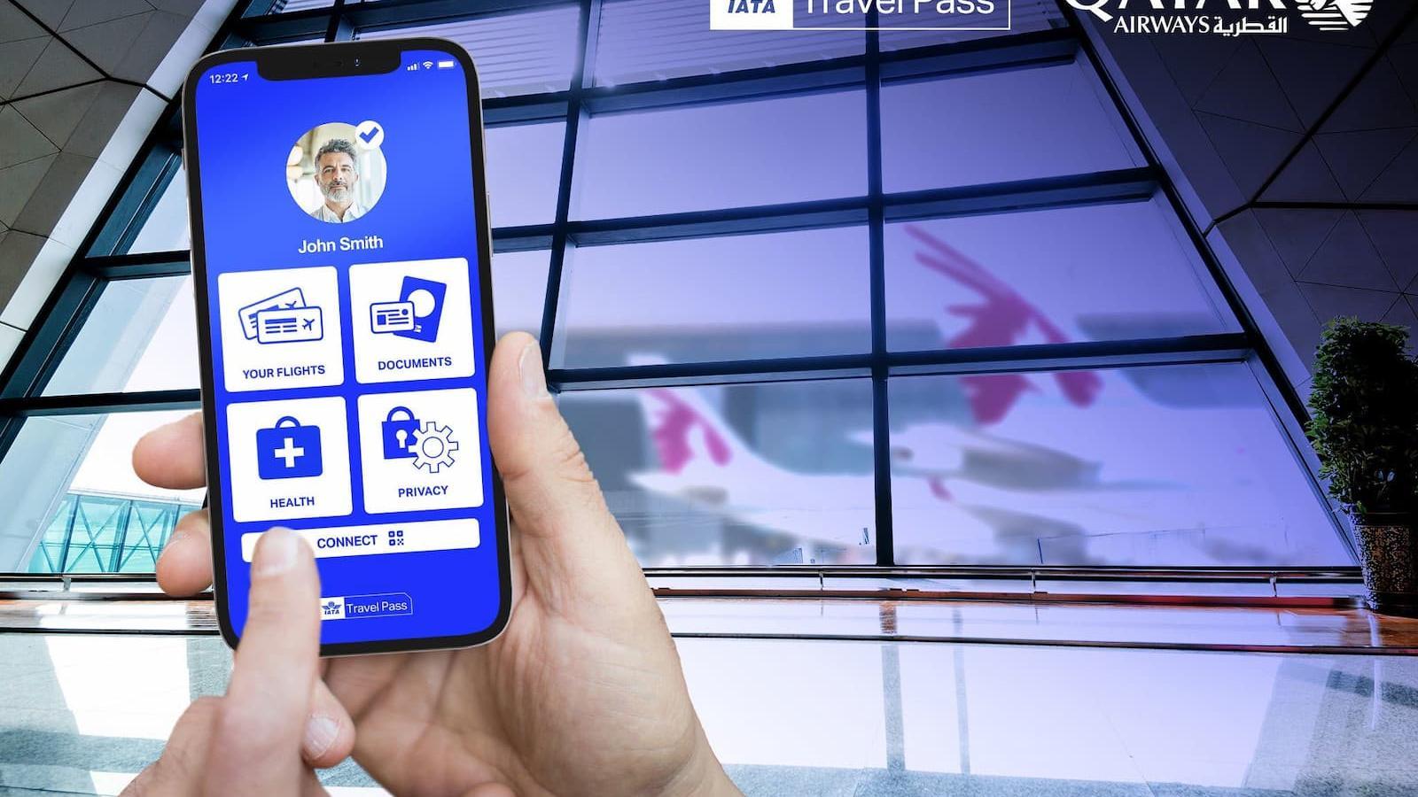 Qatar Airways first airline to integrate vaccination certificates in IATA Travel Pass 'Digital Passport' Mobile App