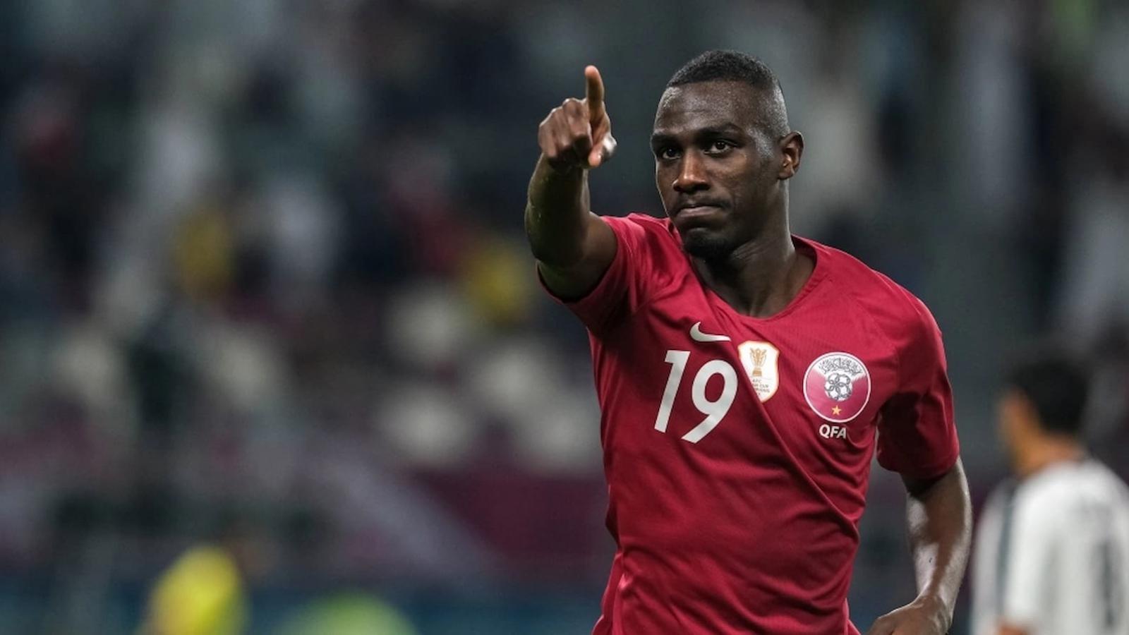Qatar's Al Moez Ali first footballer to score in three continental tournaments