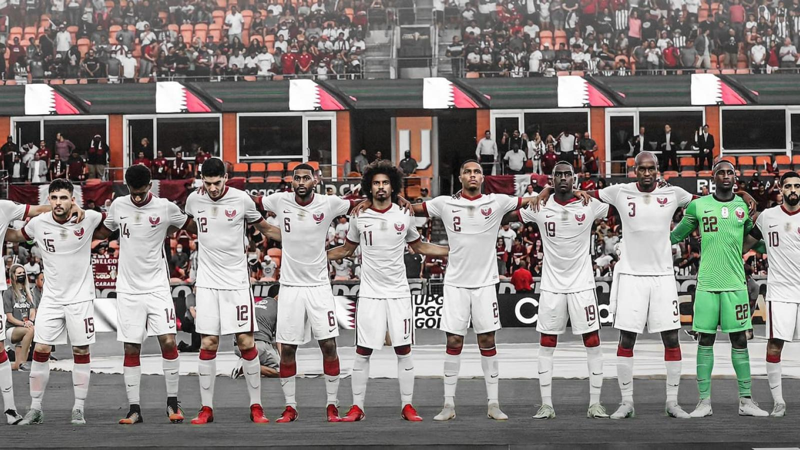 Qatar continue training in preparation to face Grenada in second round of Gold Cup