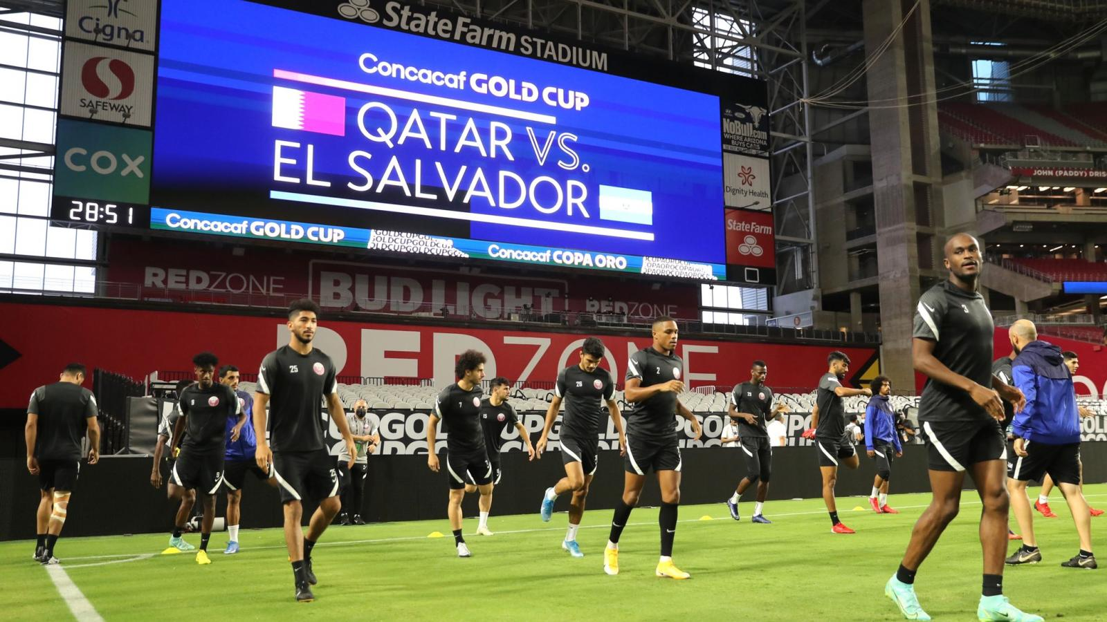 WATCH: Qatar ready for historical CONCACAF Gold Cup quarter-finals clash with El Salvador