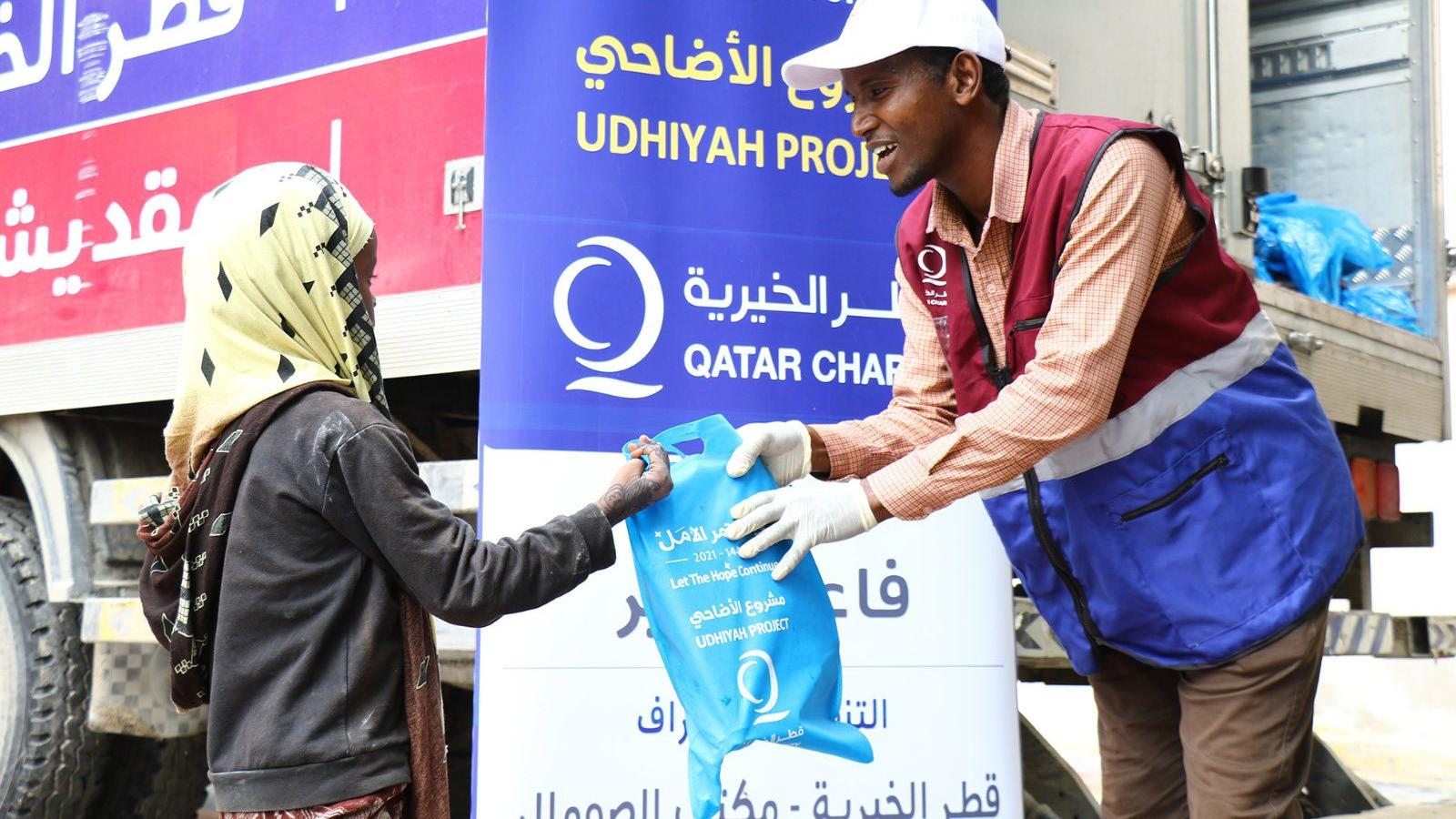 Over 930,000 benefit from Qatar Charity's Udhiya