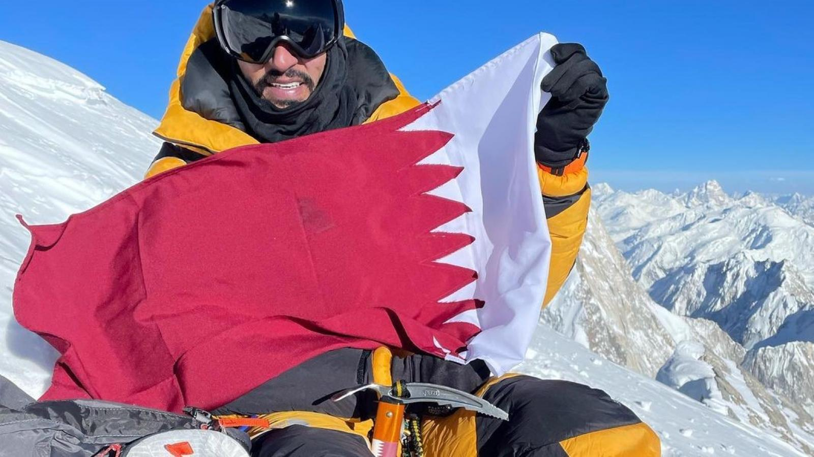 Qatari climber Fahad Badar achieves yet another mountain climbing feat