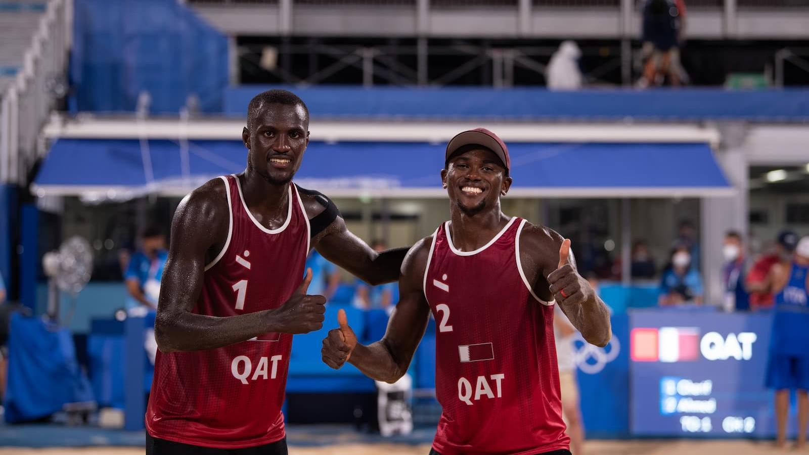 Qatar Beach Volleyball team progress to quarter-finals at Tokyo Olympics 2020