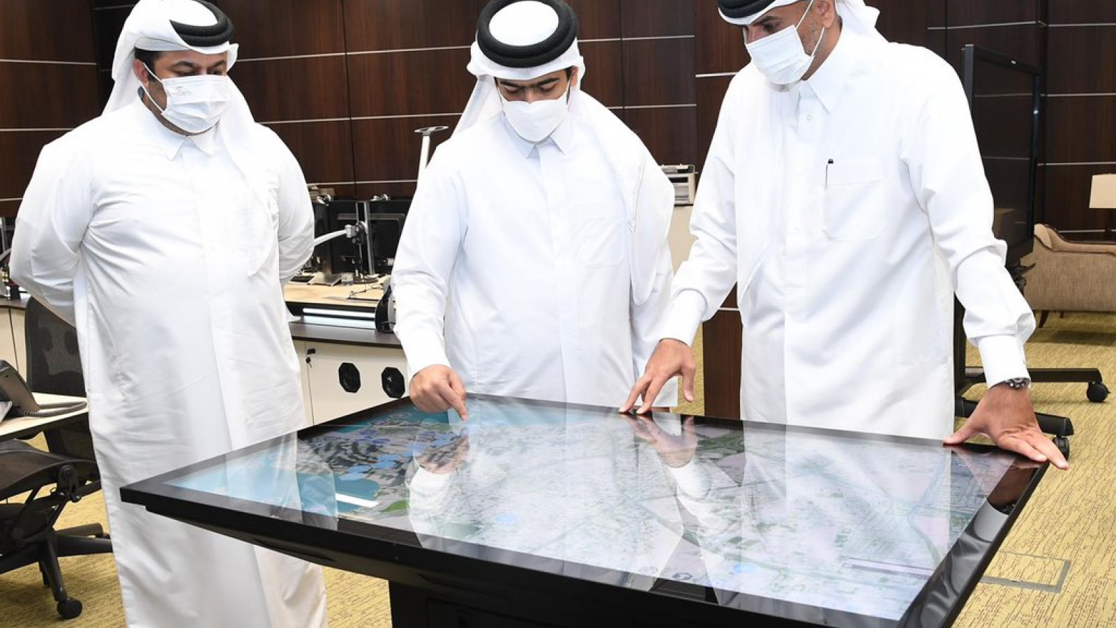 Prime Minister inspects electoral headquarters of the Shura Council