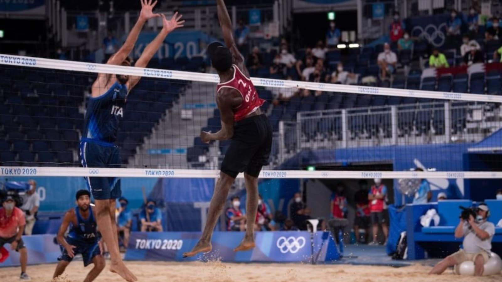 Qatar's Younousse and Tijan set for semifinals clash against Russian pair today