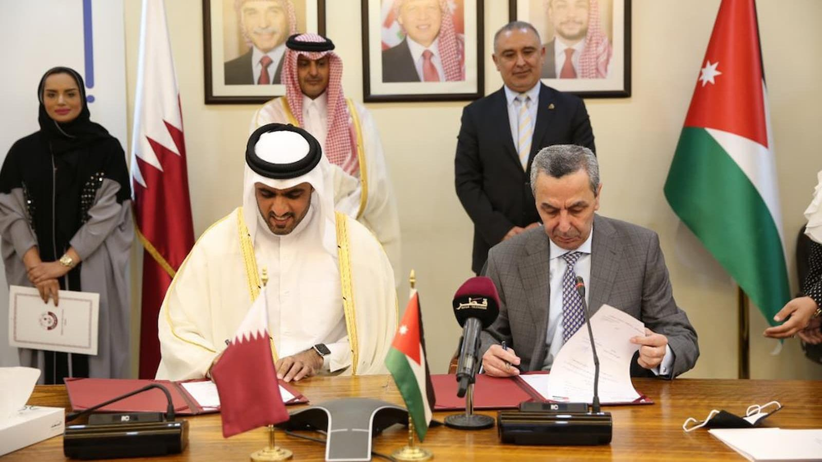 QFFD, Jordan's education ministry sign deal to strengthen education sector