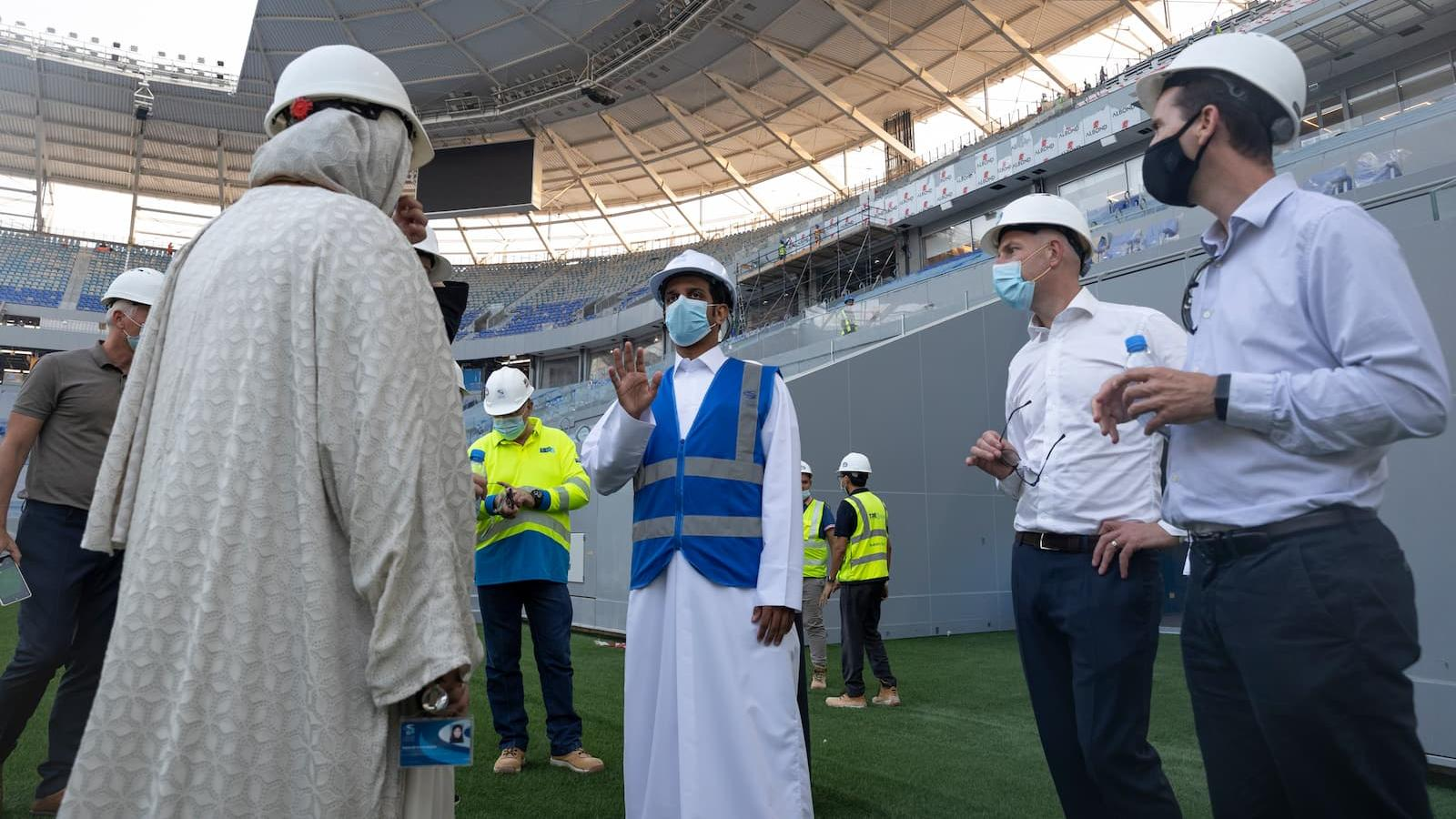 QFA, SC hosts UEFA workers' rights working group to outline FIFA World Cup Qatar 2022 preparations