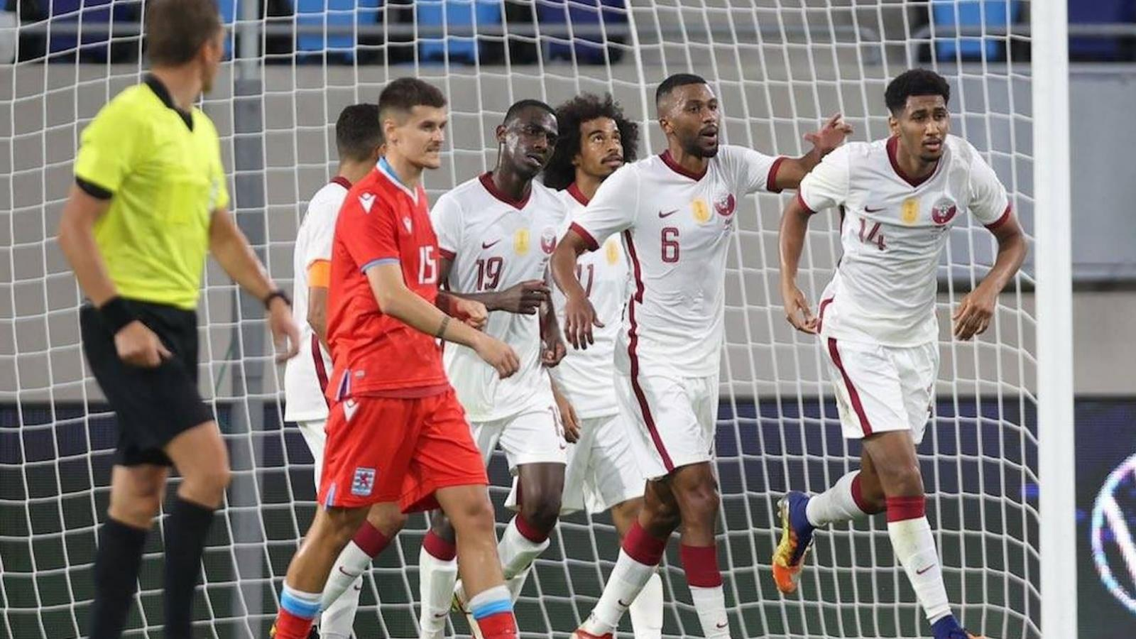 Al Amin's 43rd-minute strike ensures Qatar, Luxembourg share the spoils in European qualifiers