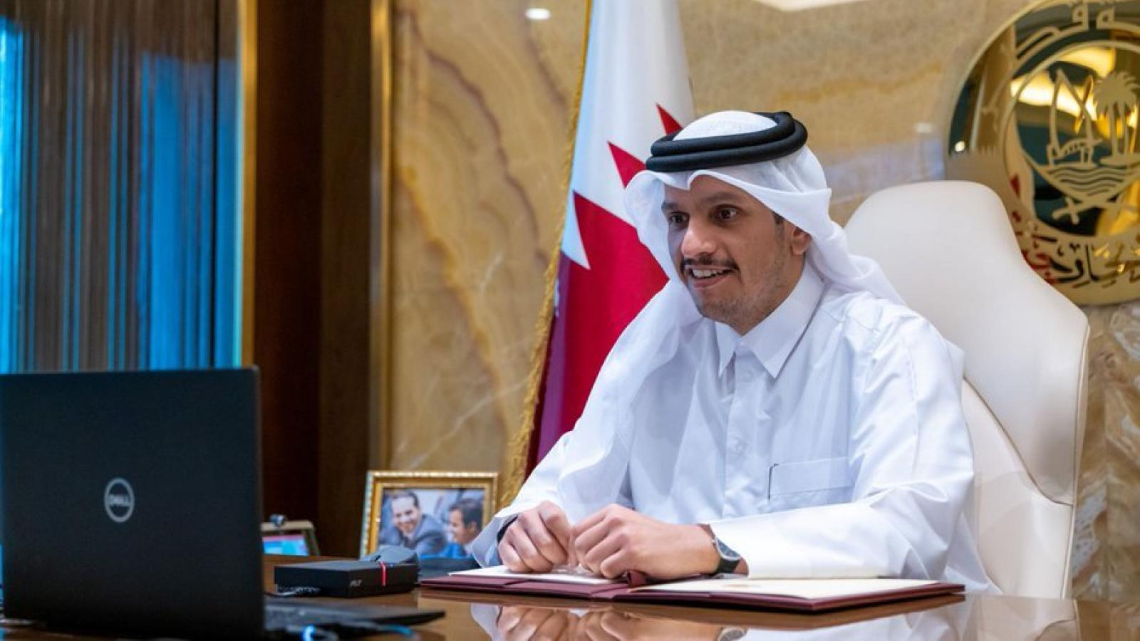 Qatar participates in ministerial talks on Afghanistan