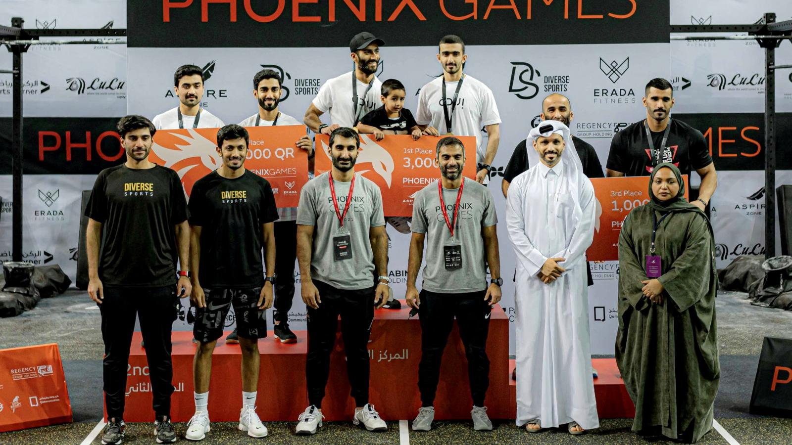 First edition of the PHOENIX GAMES witnesses fierce competition