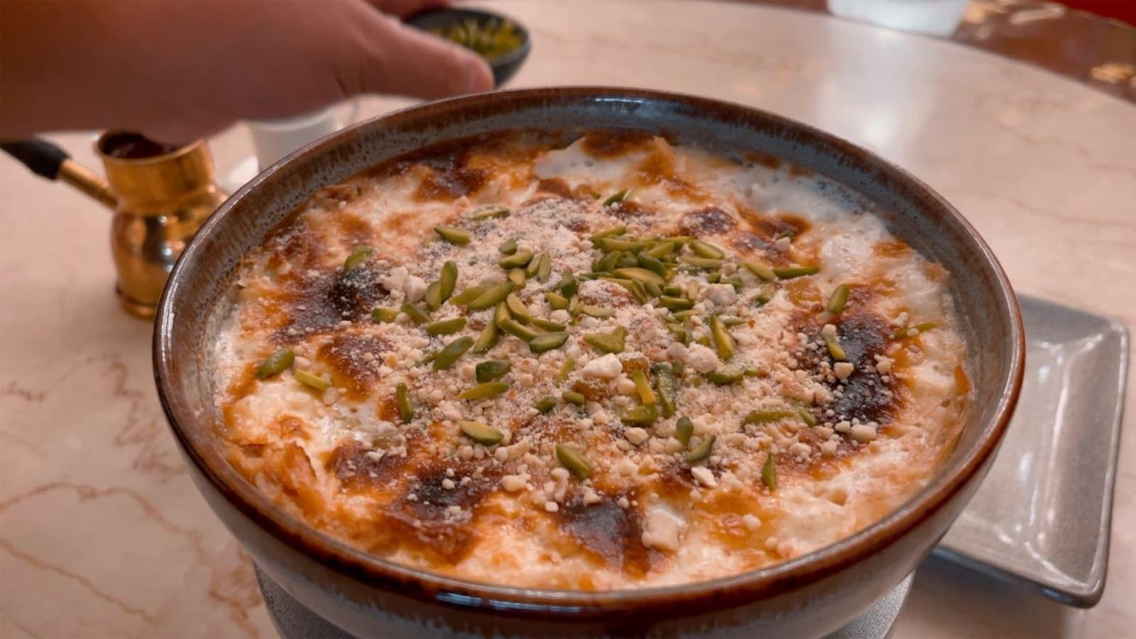 WATCH: New QL Food series explores Doha's most famous Umm Ali